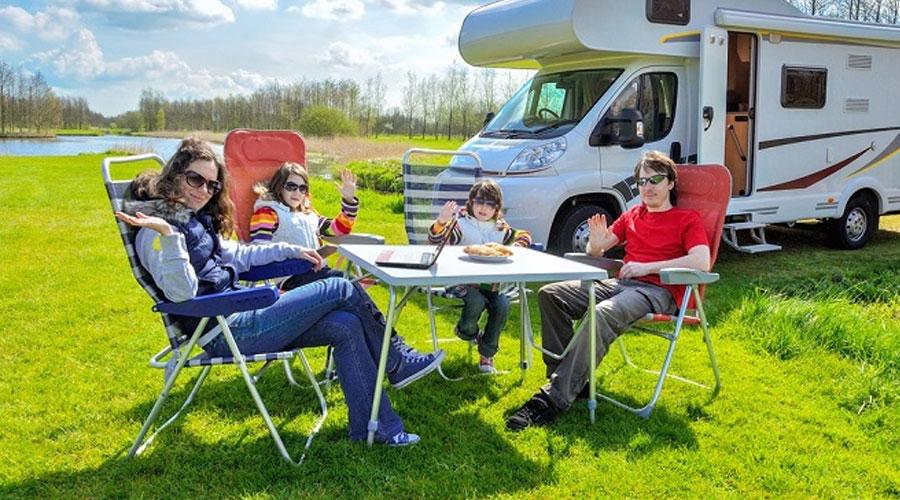 viajar en autocaravana en familia