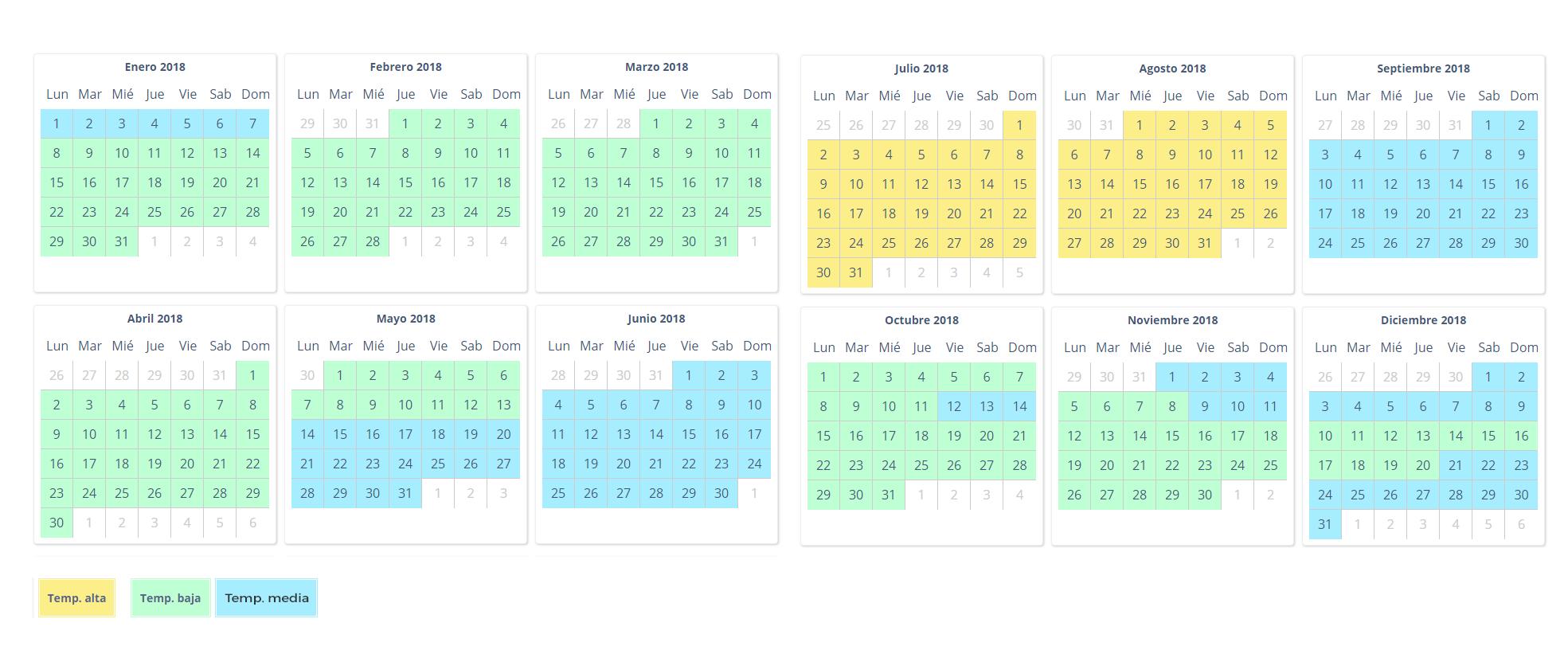 calendario reservas autocaravanas