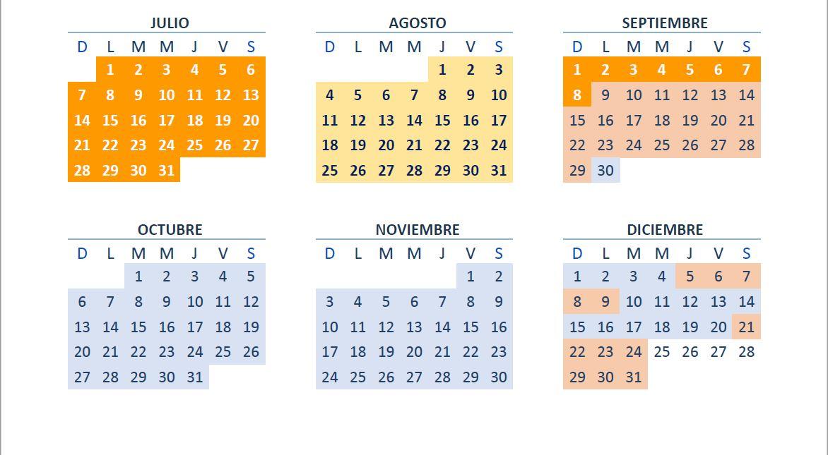 temporadas alquiler autocaravanas voyenvan julio a diciembre